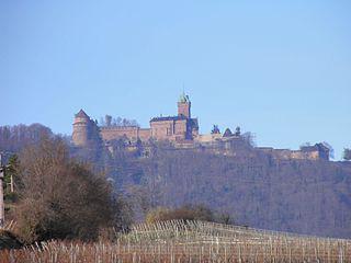 Périple : J19, le Haut Koenigsbourg et Obernai